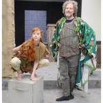 Picture of my daughter as Puck and me as Oberon. A Midsummer Night's Dream, Cabaret Theatre, Latrobe, July 13-23.