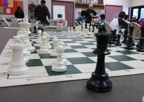 Another chess tournament with the boy.