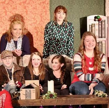 """Carolyn appears the homeschooled teenager """"Carolyn."""" Free holiday show Tuesday at 7."""