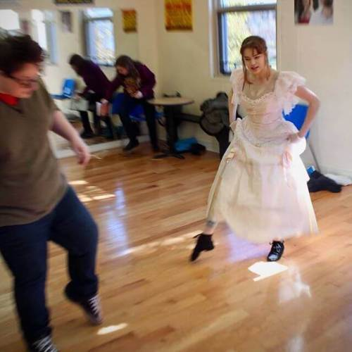 """Alex and Carolyn rehearse for """"The King and I"""" Saturday night"""