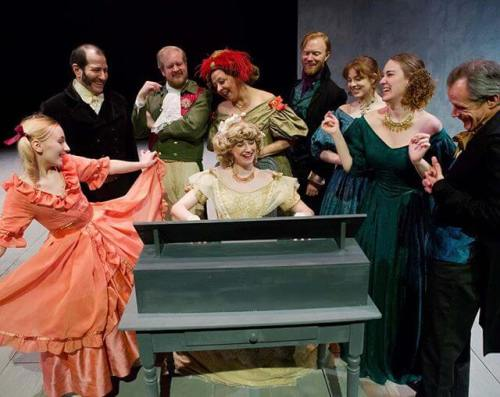 Cheerful scene from @pictclassictheatre Jane Eyre (getting great reviews; 11 more performances)