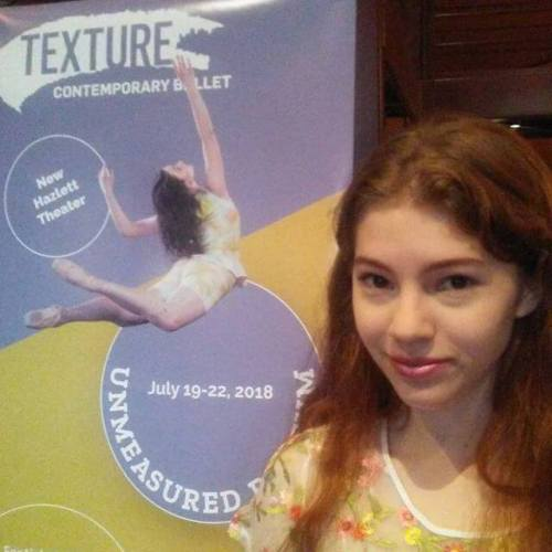 Attending the Texture Contemporary Ballet.
