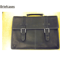 "Briefcase, from the New York Public Library ""Grow Up"" work accessories collection."