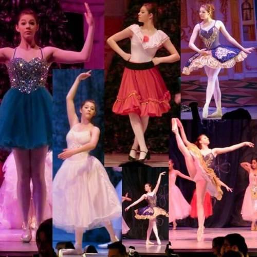 Nutcracker dress rehearsal montage. Carolyn plays the Dew Drop Fairy Saturday at 7.