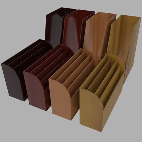 Wooden document holders. Pretty routine, but practice is practice. #Blender3D