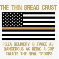 "I'm amused by the quirky way the ""Thin Bread Crust"" meme remixes the remix."