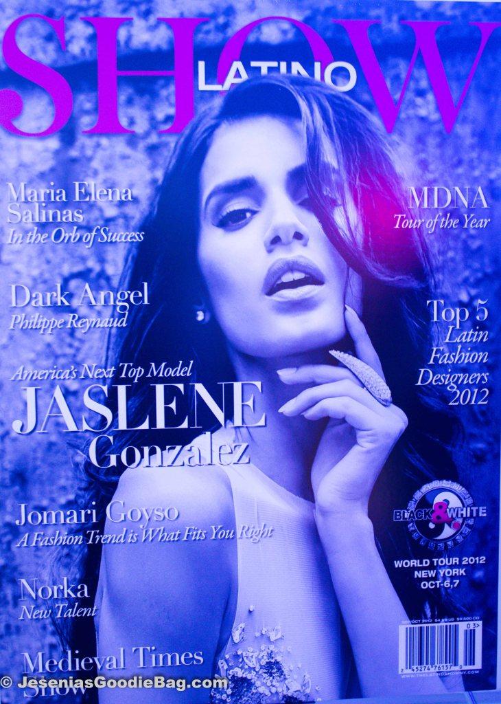 Latino Show Magazine (Jaslene Gonzalez)