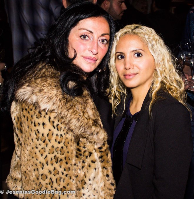 Janine Detore (Big Ang's sister) with Jesenia (JGB Editor)