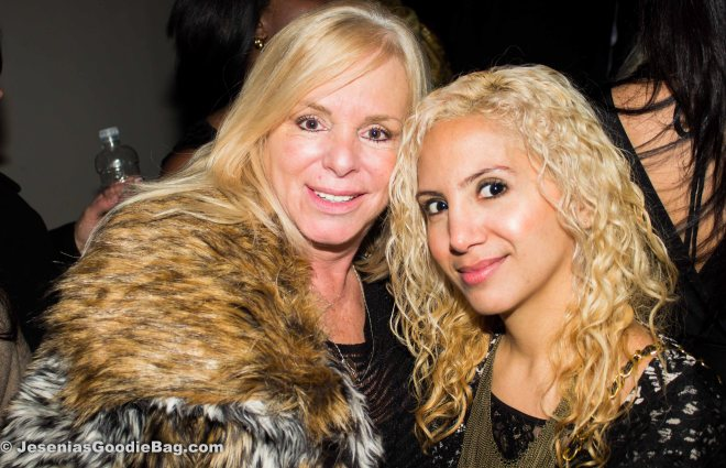 Linda Torres (Mob Wives) with Jesenia (JGB Editor)