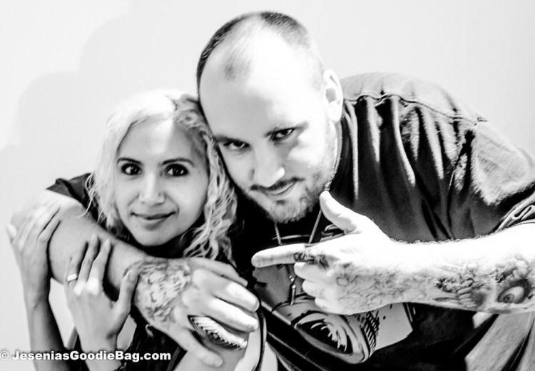 Jesenia (JGB Editor) with Bang Bang