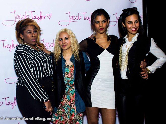 Jesenia (JGB Editors) with Fatiah Rebbekah, Destiny Melendez and Myra