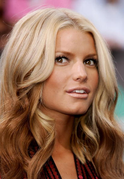 Jessica Simpson (Ombre Hair: Light to dark)