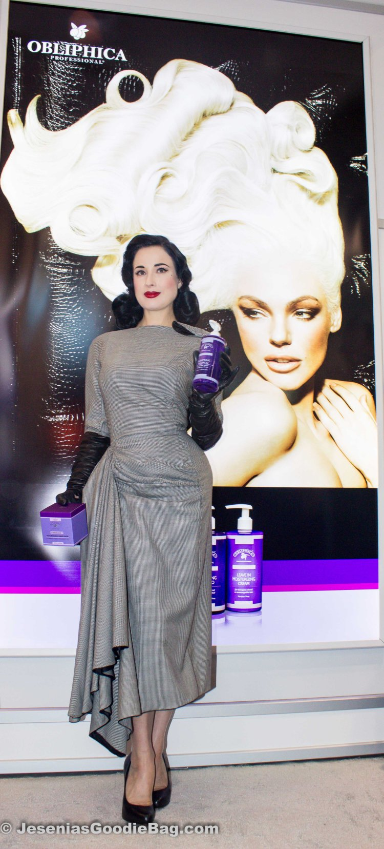 Dita Von Teese for Obliphica Professional