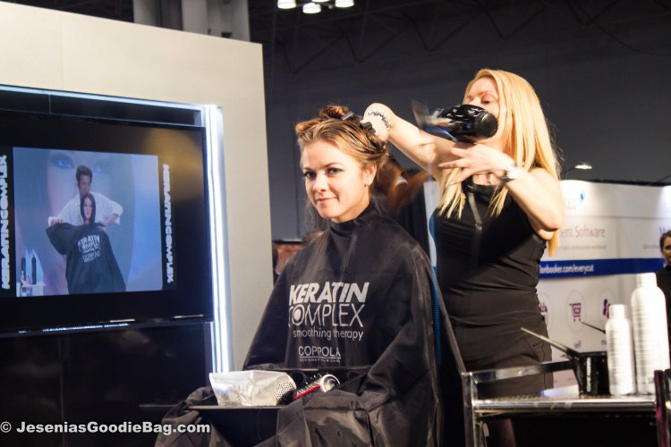 Val Alexander (Hair Model: Keratin Complex)