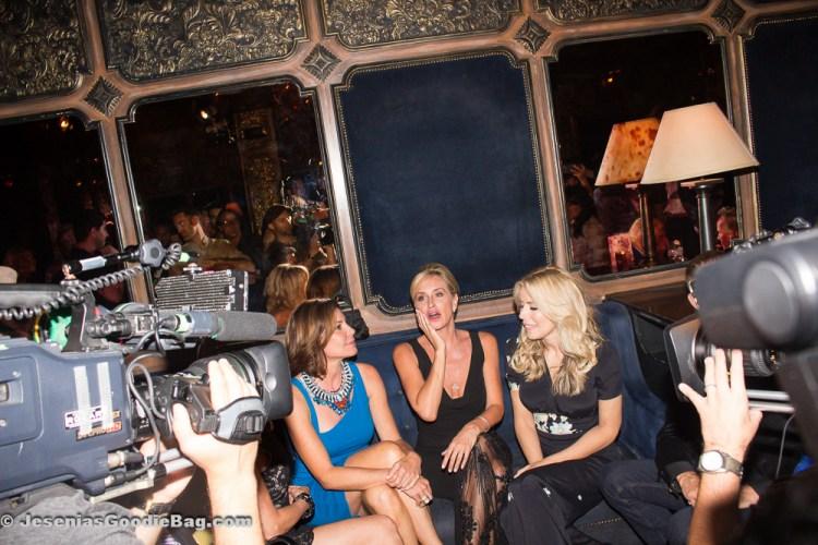 LuAnn de Lesseps, Sonja Morgan and Aviva Drescher