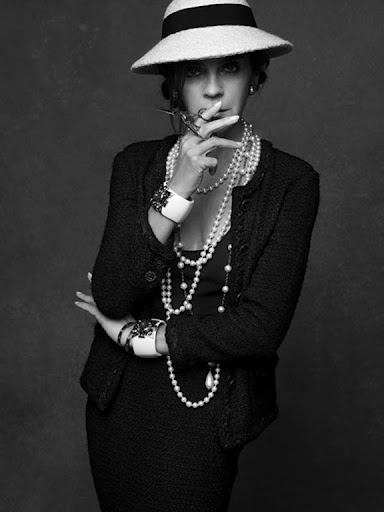 Carine Roitfeld (The Little Black Jacket - Chanel Exhibition)