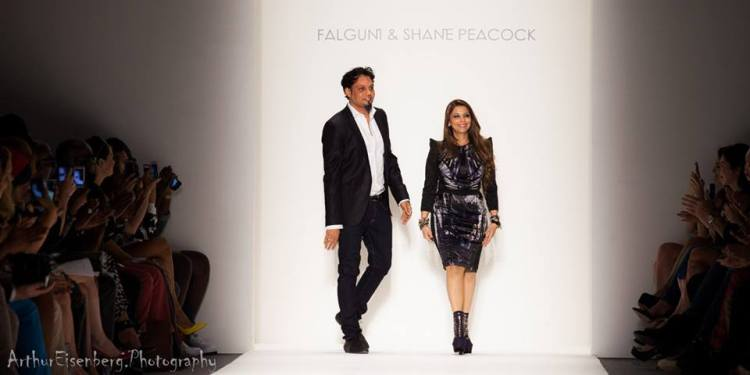 (The Designers) Arthur Eisenberg Photography for Falguni & Shane Peacock  SS 2014