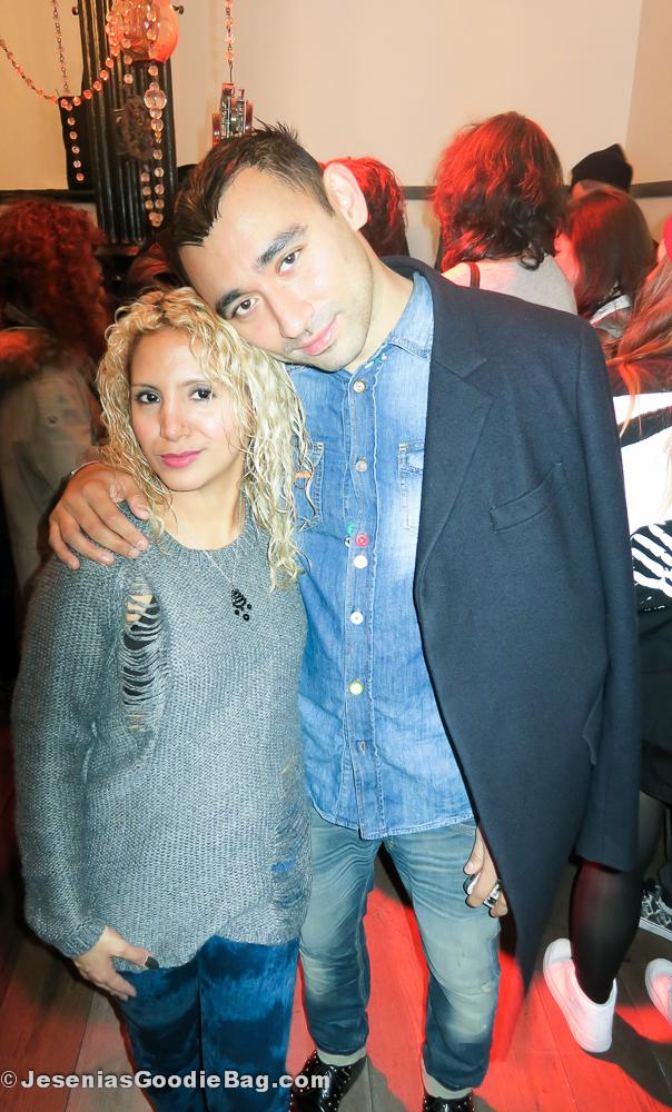 Jesenia (JGB Editor) with Nicola Formichetti