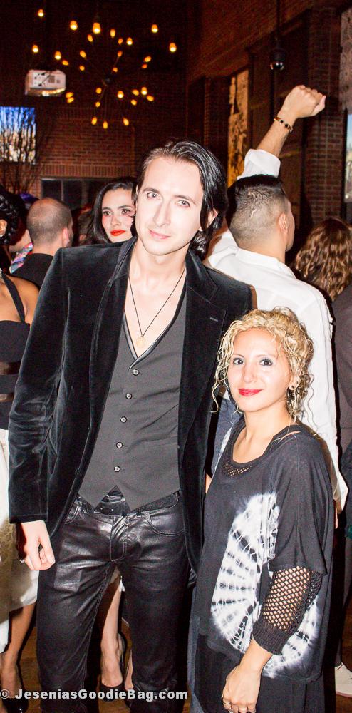 Dmitry Sholokhov with Jesenia (JBG Editor)
