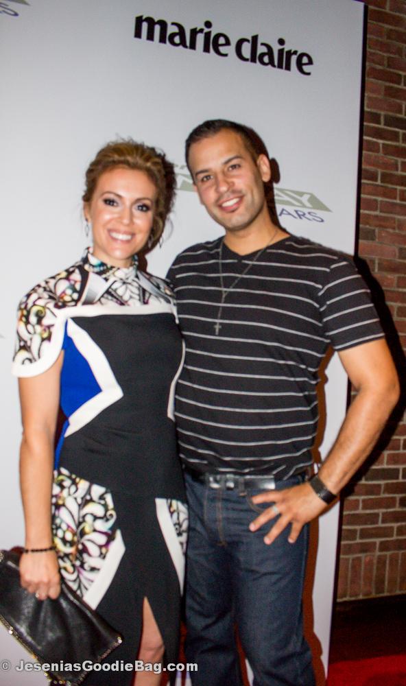 Alyssa Milano with Paul (JGB)
