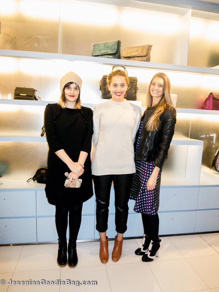 Lucky girls: Jayna Maleri, Laurel Pantin, Noelle Sciacca
