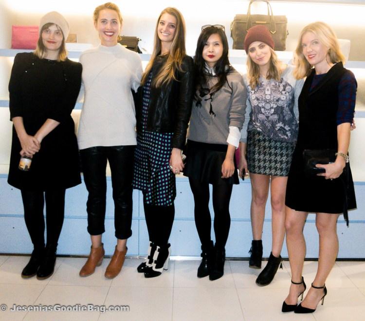 Lucky girls: Jayna Maleri, Laurel Pantin, Noelle Sciacca, Melissa Lum, Jenna Gottlieb with MMJ PR Girl