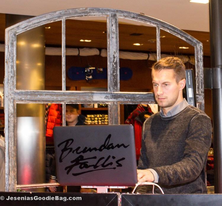 DJ Brendan Fallis