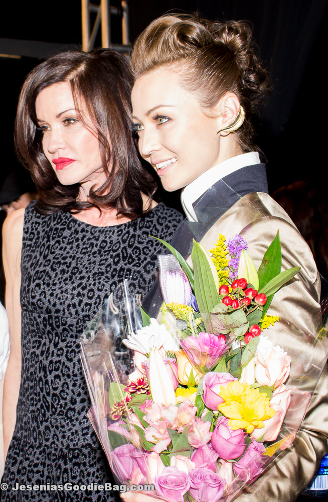 Janice Dickinson with Katya Zol