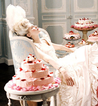 Actress Kirsten Dunst for Marie Antoinette film (2006) (Photo by c.Sony Pictures/Everett / Rex Features)