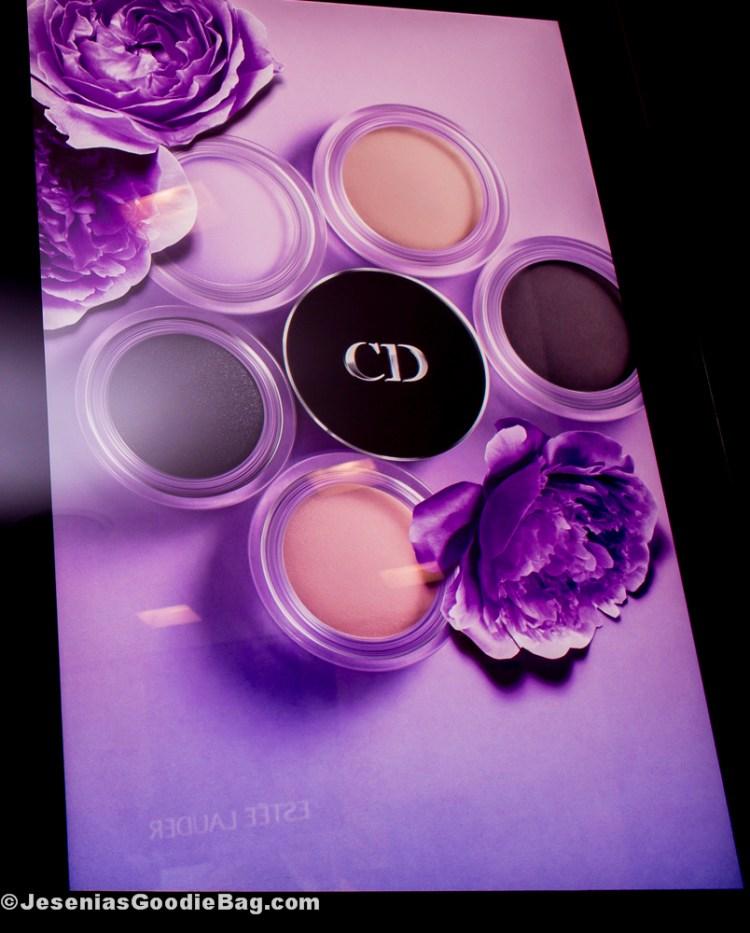 Diorshow Fusion Mono Matte - Long-Wear Professional Eyeshadow (Nocturne, Celeste, Fantaisie, Mirage)