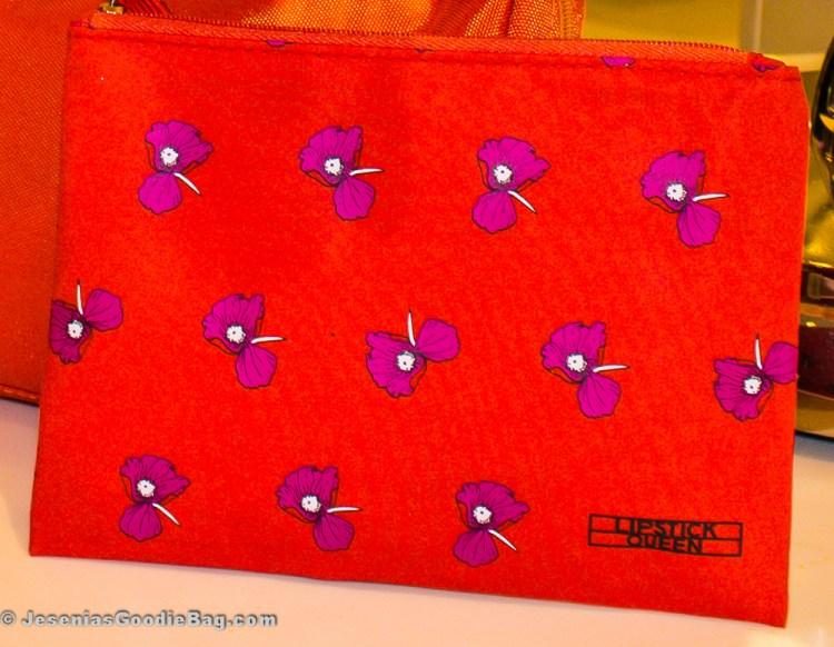 Lipstick Queen makeup bag