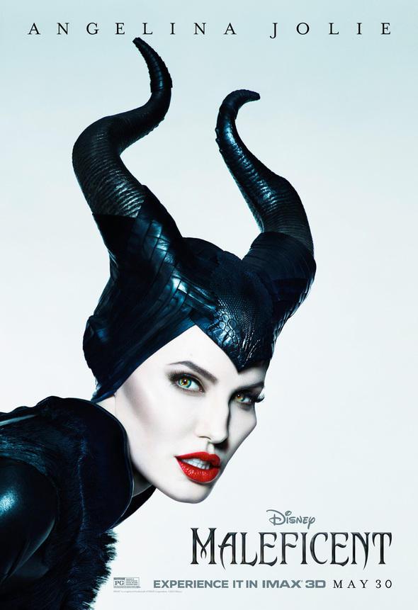 Angelina Jolie as Maleficent