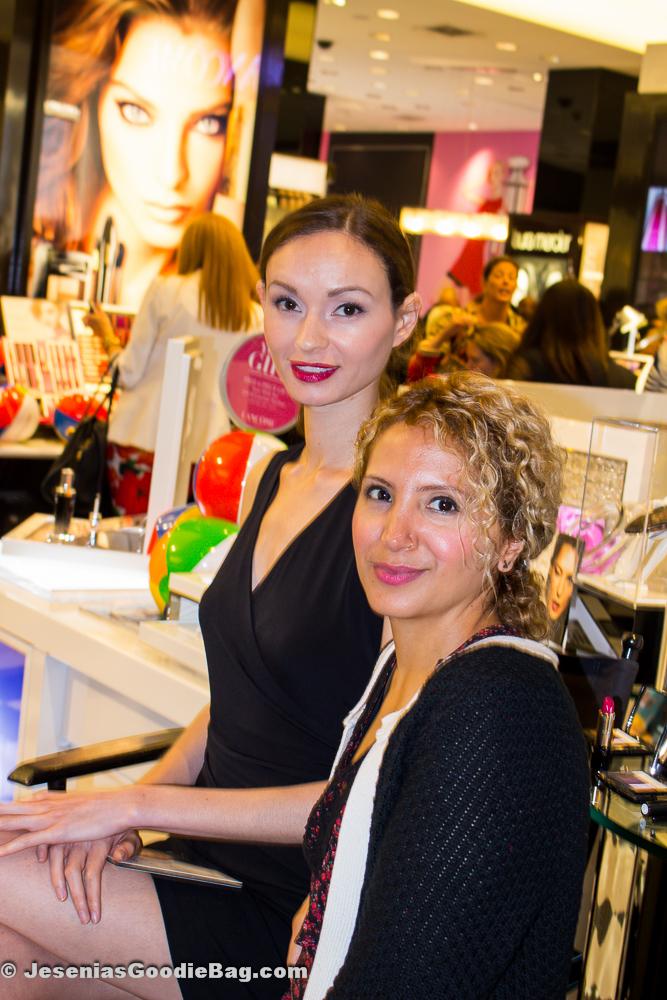 Vogue model with Jesenia (JGB Editor)