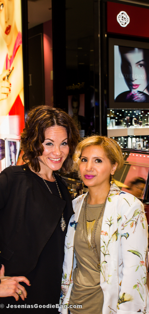 Melinda Sarabia with Jesenia (JGB Editor)