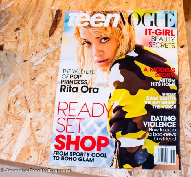 Rita Ora (Teen Vogue - Nov 2014)