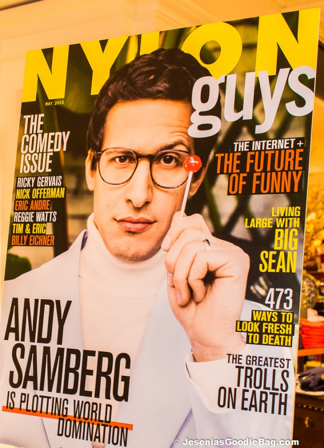 Adam Samberg for Nylon Guys (April/May 2015)