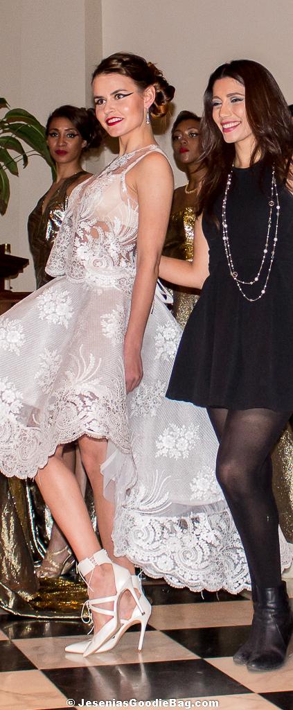 Irina Shabayeva with model