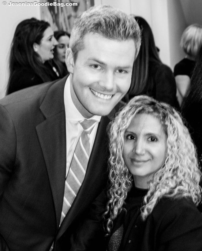 Ryan Serhant With Jesenia (JGB Editor)