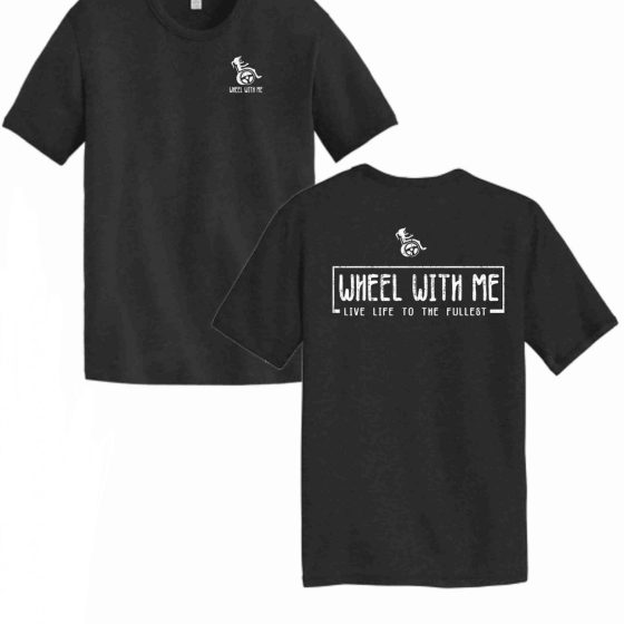 Wheel With Me Foundation Tee