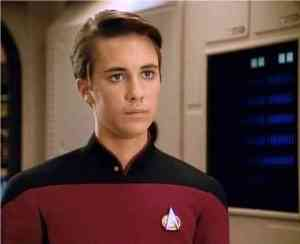 Barking Up the Muse Tree | jespah | Janet Gershen-Siegel | Wesley Crusher