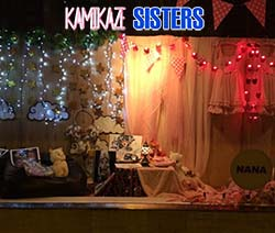 Kamikaze Sisters –  The Worlds of Two Girls Collide