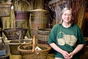 Katherine Lewis, basketmaker