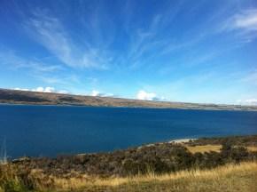 Alongside Lake Pukaki