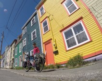 St. John's is so colourful!