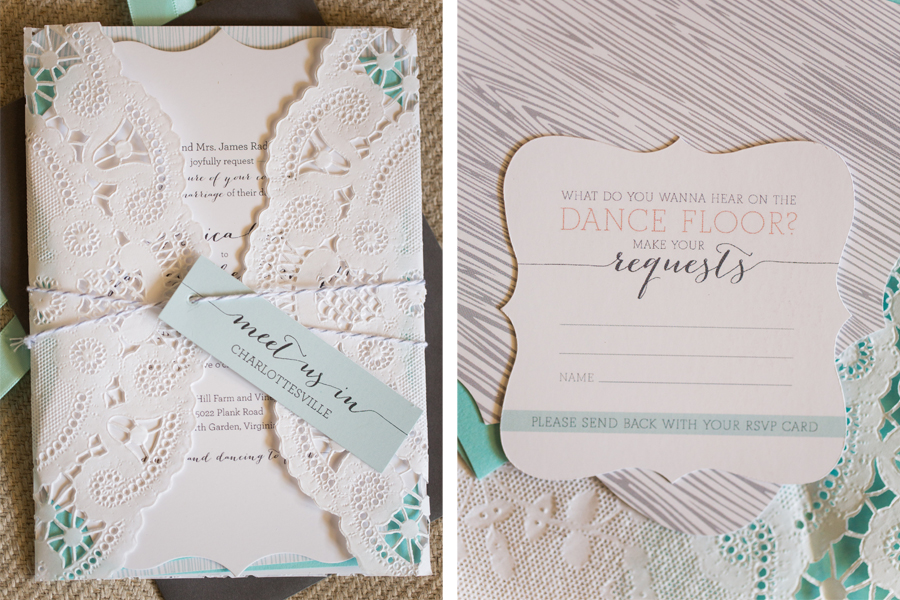 Rustic Design Wedding Invitations