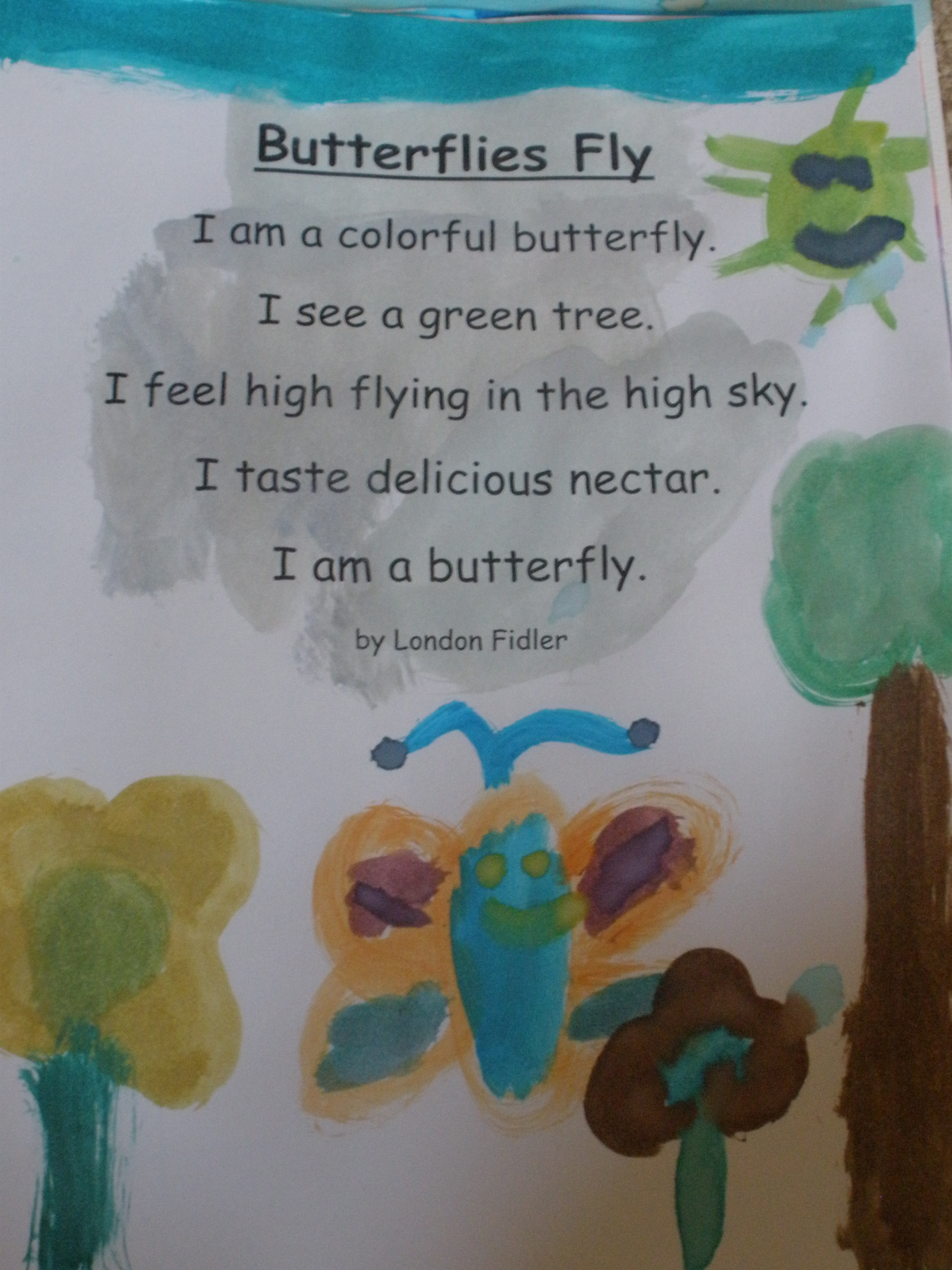 Spring Poetry Assignment