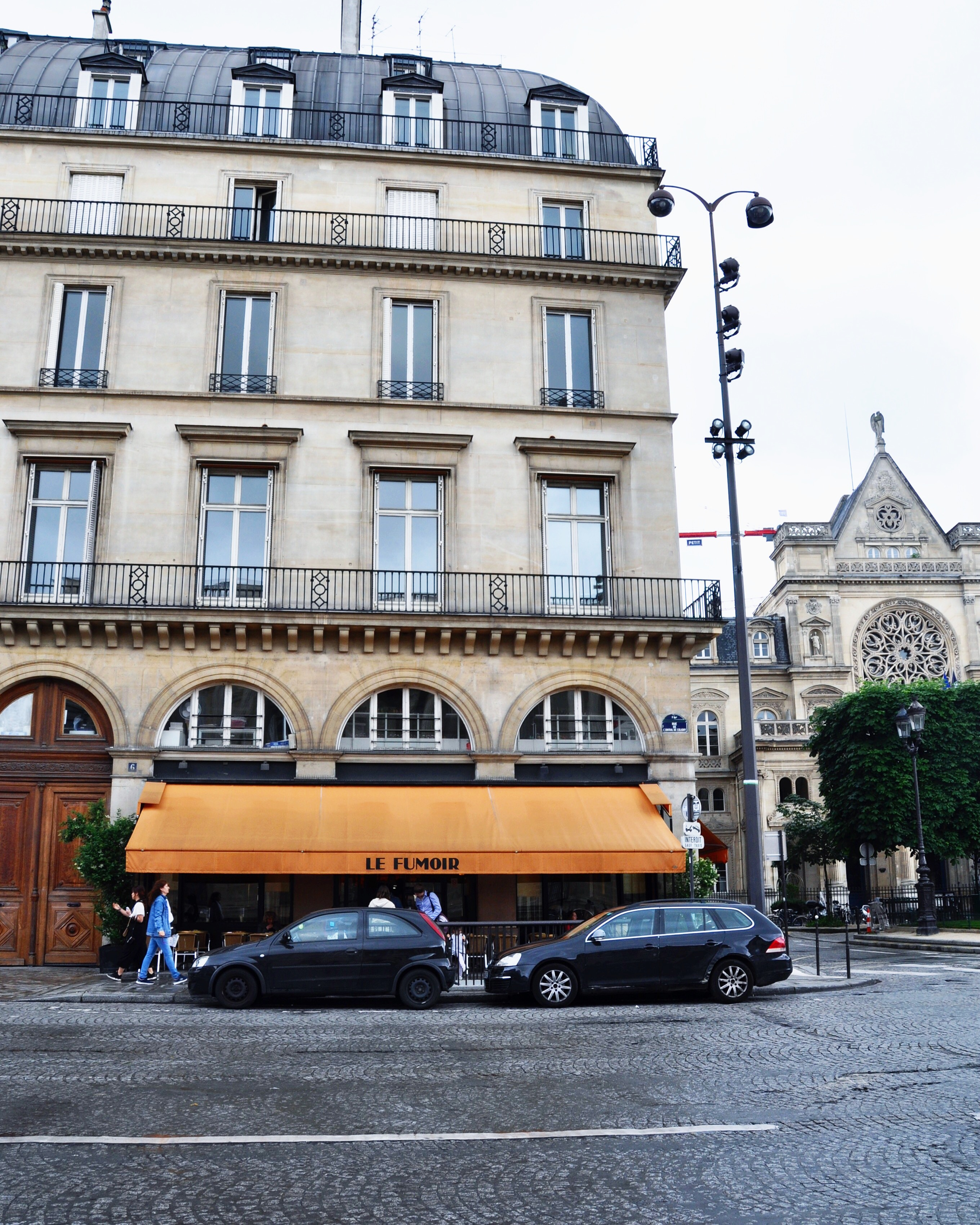 Le Fumoir - perfect Sunday brunch spot near the Louvre in Paris