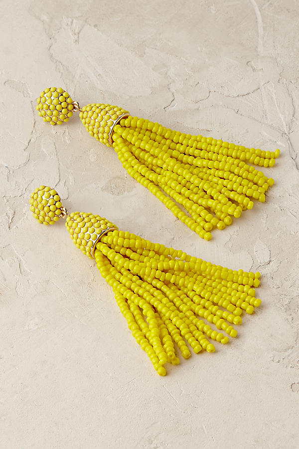 Anthropologie - Pinata Tassel Earrings - £48
