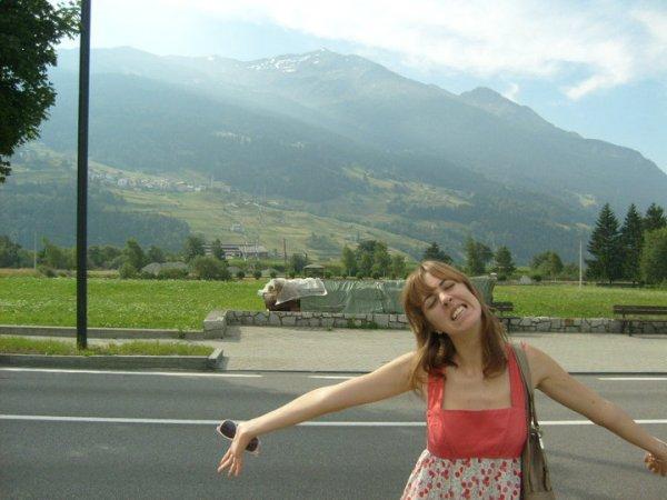 Happy to be in Bormio