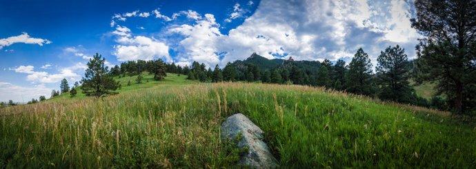 Boulder Chautauqua Panorama 2016